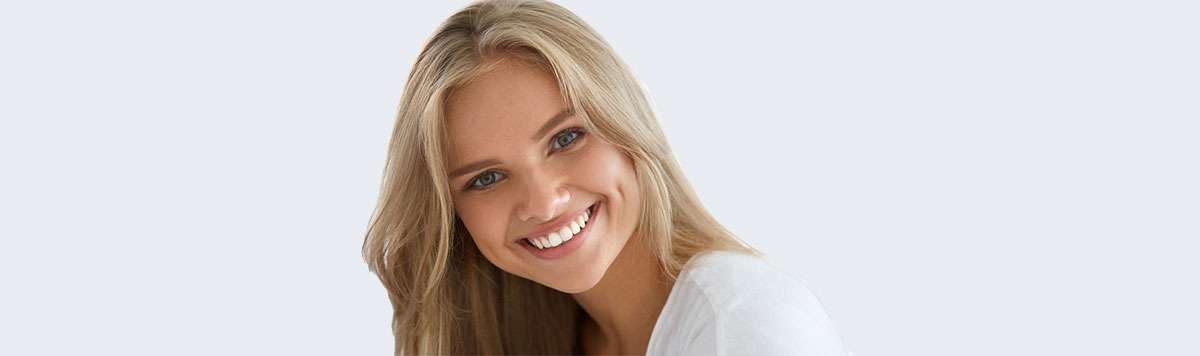 White fillings - aesthetic cavity repair near Alliston, ON - Dr. Oksana Vozna